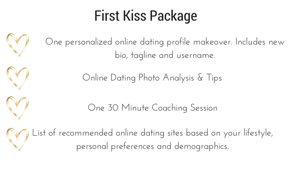 Online dating first kiss